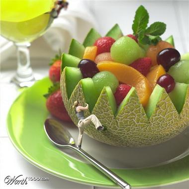 Натюрморт из фруктов.