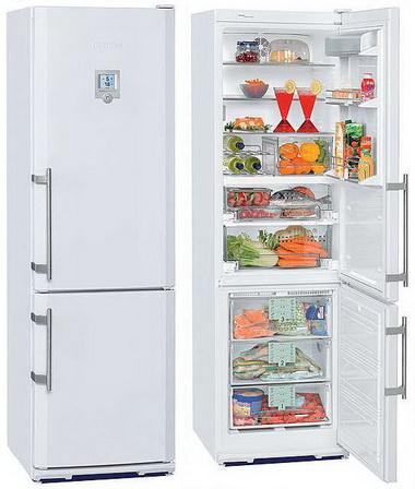 Полный холодильник.