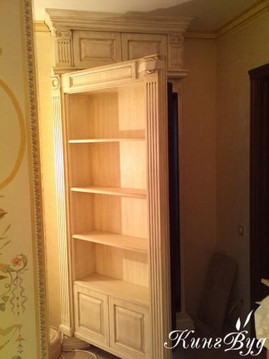 Потайной кухонный шкаф.