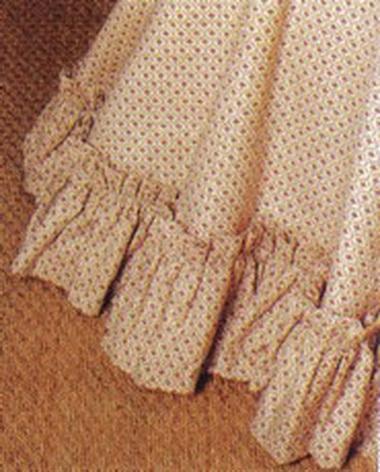 Прокладка скатерти.