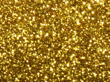 Золотые блестки.